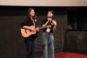 Nathalie chitarra IFAF